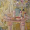 Beauty Parlour. Oil on canvas. Sold.