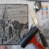 Linoprinting workshop