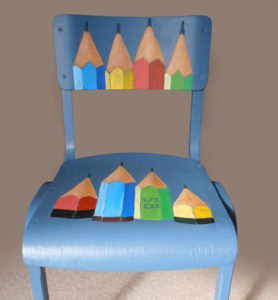 furniture upcycling Pencil Chair