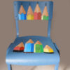 Pencil Chair. Sold.