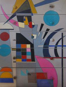 furniture upcycling Kandinsky