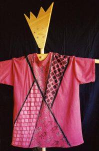 fabric printing African tunic